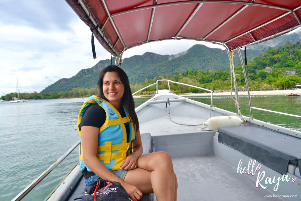 Paradise 101 by Naam in Langkawi - Boat Ride to the Island | Hello Raya Blog