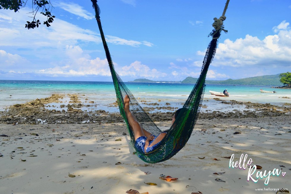 Incredible Things to do in Pulau Weh - Chilling on a Hammock | Hello Raya Blog