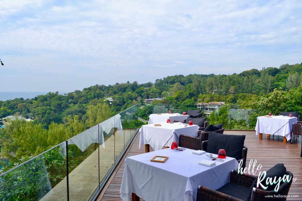 Phuket Restaurant at Paresa Resort Phuket - Talung Thai Al Fresco Dining Area | Hello Raya Blog