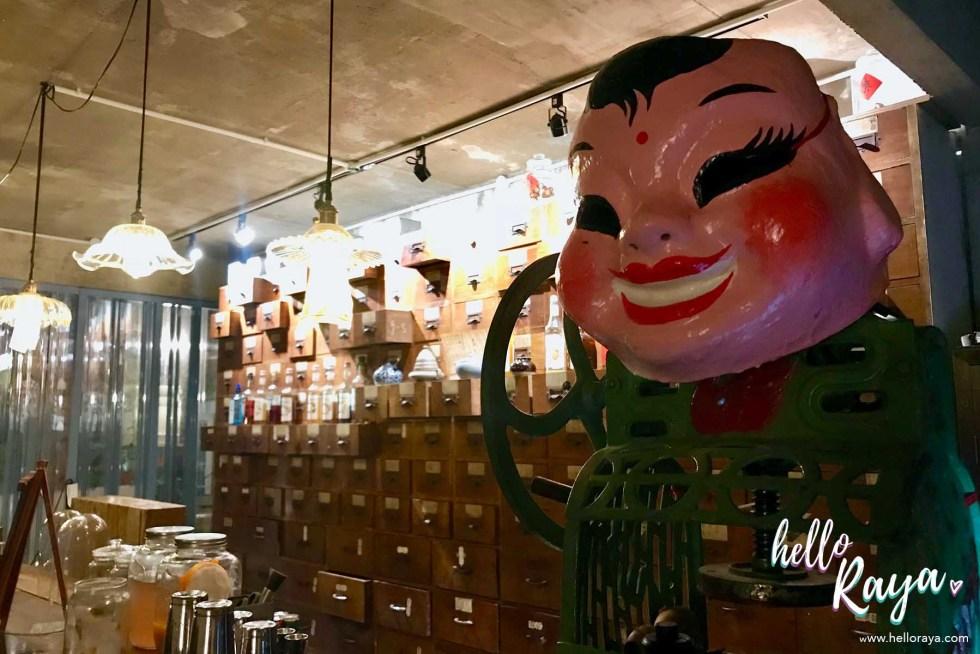 Deceased Bar KL - Speakeasy Bar in KL   Hello Raya Blog