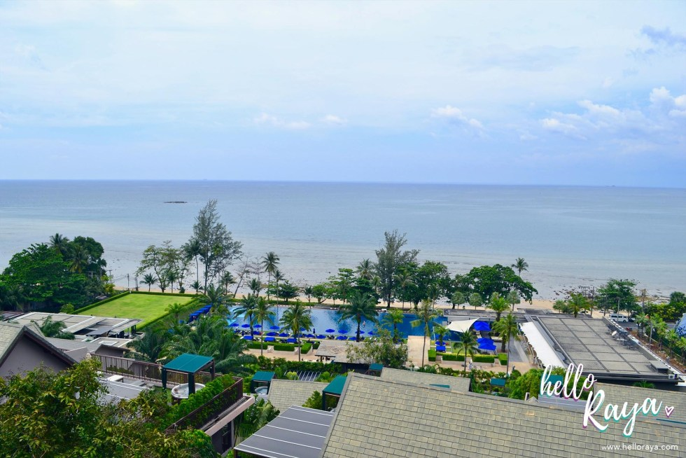 Hyatt Regency Phuket Resort | View over the pool | Hello Raya Blog