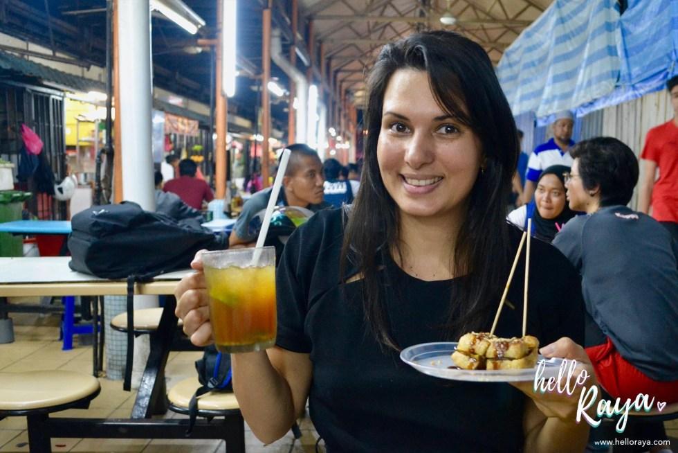 Food Tour Kuala Lumpur | Tauhu Bakar | Hello Raya Blog