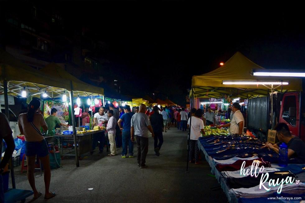 Food Tour Kuala Lumpur | Night Market in Kuala Lumpur | Hello Raya Blog