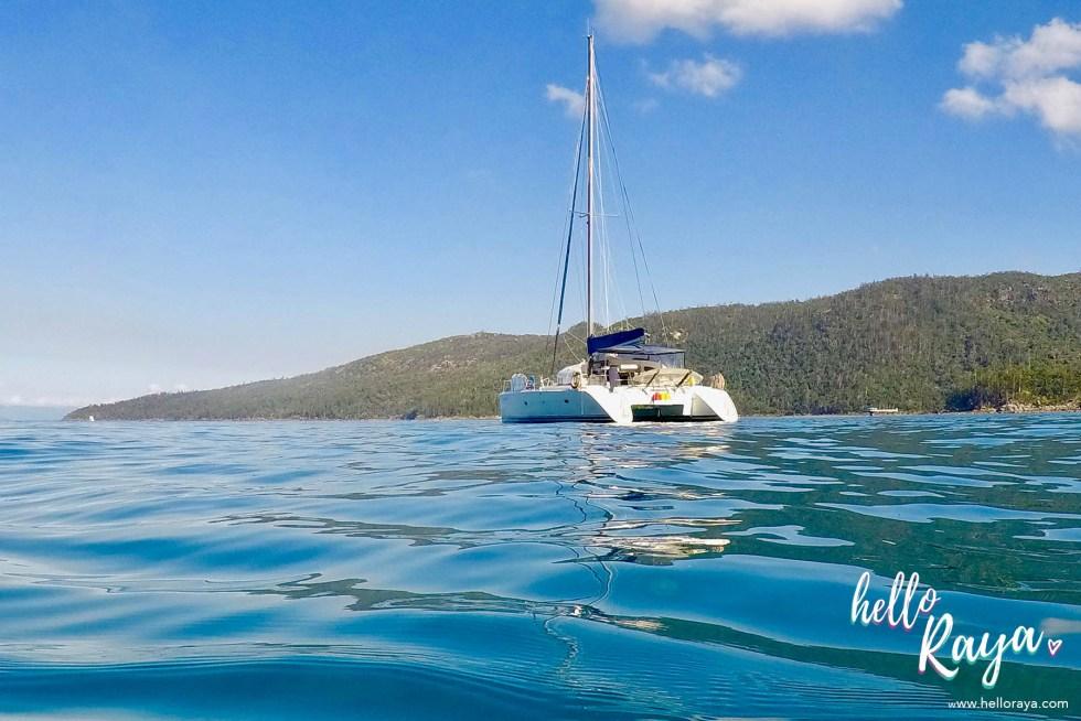 Sailing the Whitsundays | Review of the Whitsunday Blue | Whitsunday Holiday | Hello Raya Blog