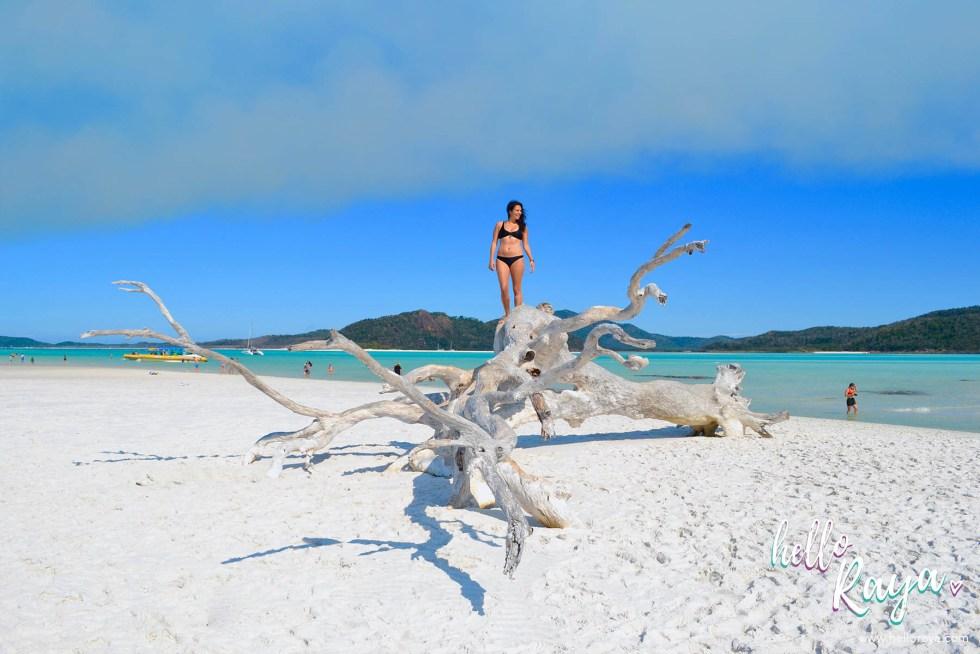 Exploring Whitehaven Beach in the Whitsundays | Hello Raya Blog