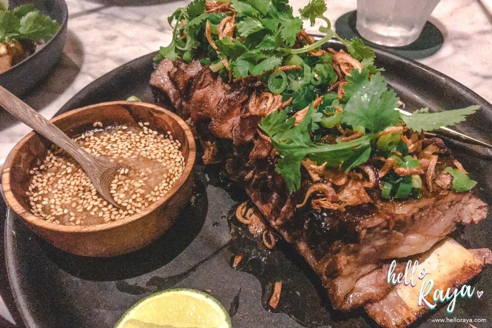 Vietnamese Style Roasted Short Ribs | Isabel Restaurant & Bar in Kuala Lumpur, Malaysia | Hello Raya Blog