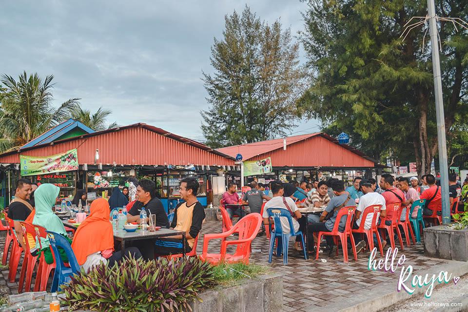 Places to Eat in Pulau Weh | Satay Gurita | Hello Raya Blog