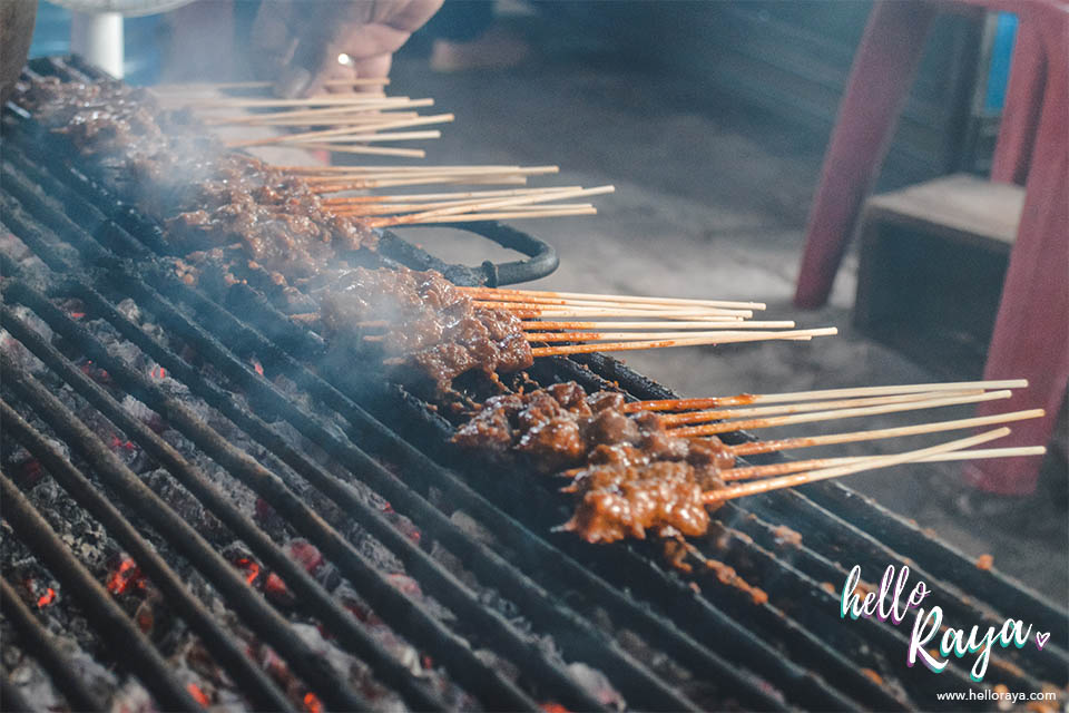 Places to Eat in Pulau Weh | Satay Gurita | Hello Raya Blog