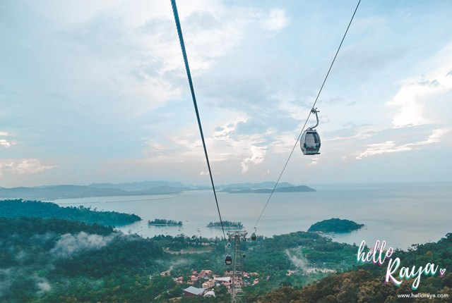 Unique Things to do in Langkawi - Cable Car   Hello Raya Blog