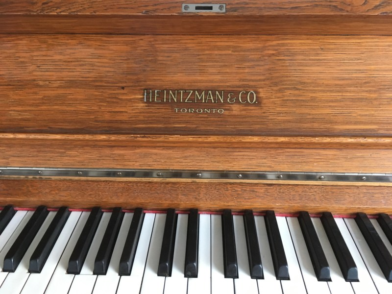 I've just got a piano!