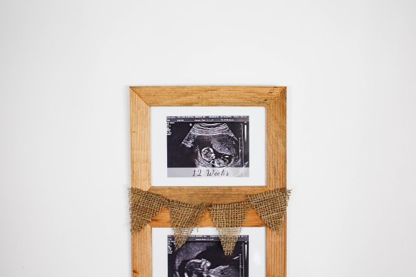 DIY Sonogram Frame - 7