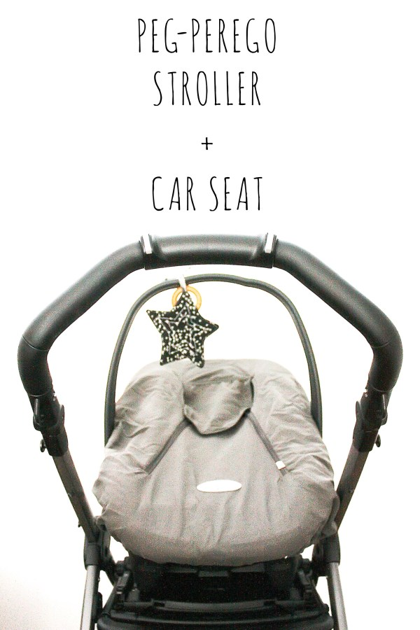 Peg Perego Car Seat and Stroller