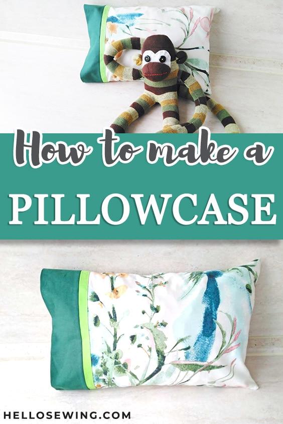 free pillowcase pattern burrito style