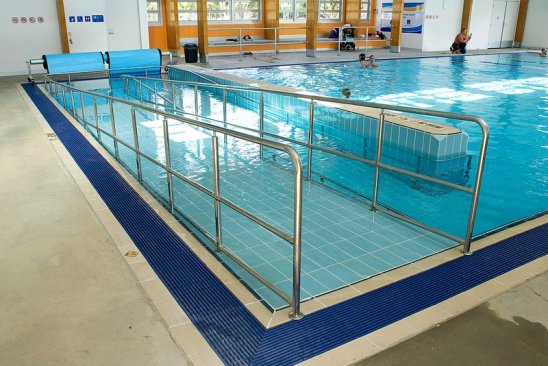 wheelchair access pool