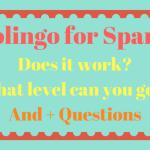 Duolingo 4 Spanish