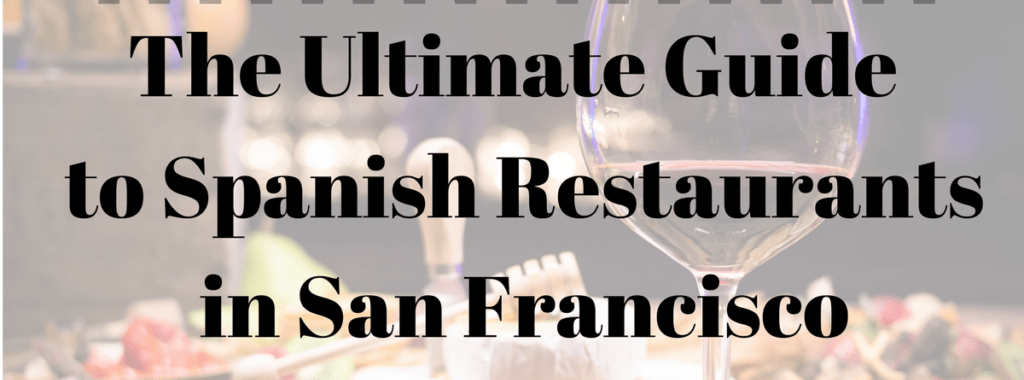 spanish restaurants in san francisco
