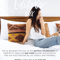 FabFitFun Editors' Box #3 Flash Sale: 40% Off - Still Working!