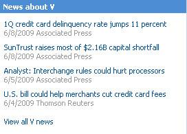 News about V