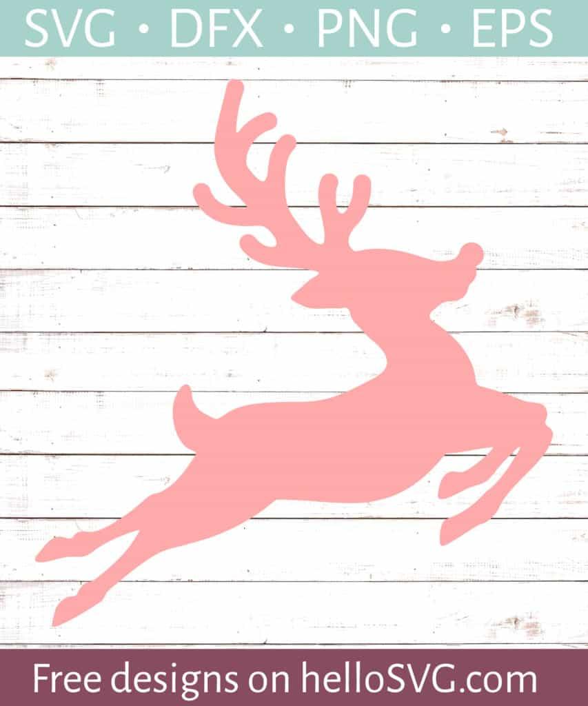 Download Flying Reindeer SVG - Free SVG files | HelloSVG.com