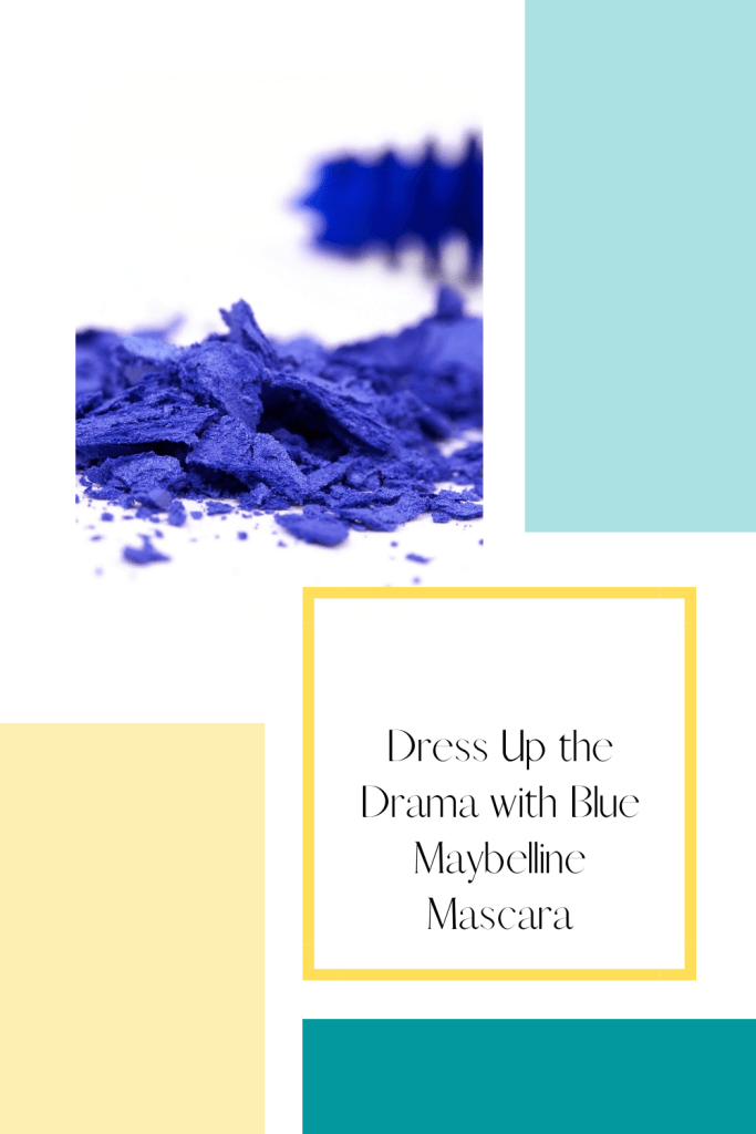 Looking for something a little different? Try some blue Maybelline mascara, or one of these other fun, blue makeup products.