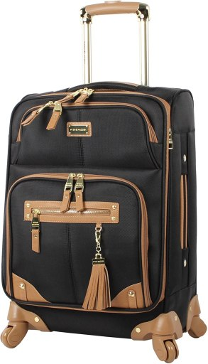Steve Madden Designer 20 Inch Carry On Luggage Collection