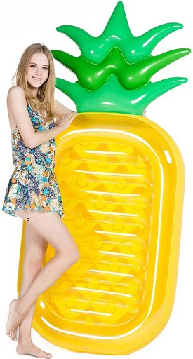 "Jasonwell Giant 76"" Pineapple Pool Party Float Raft"