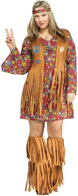 plus size hippie costume