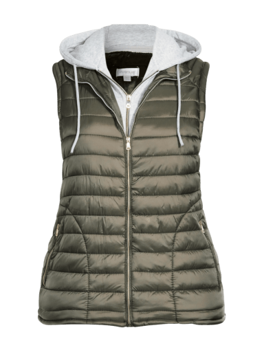 Quilted Faux-fur Lined Vest by Avenue | 14-28