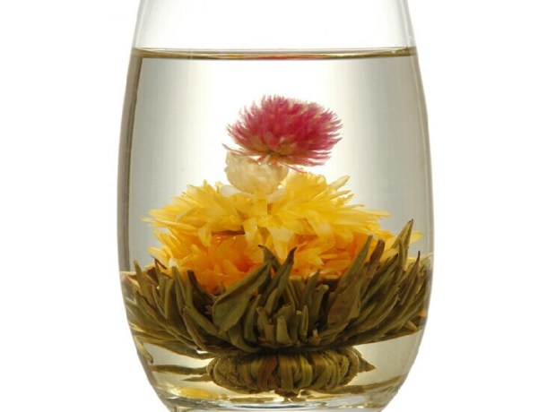 flowering tea blooming tea