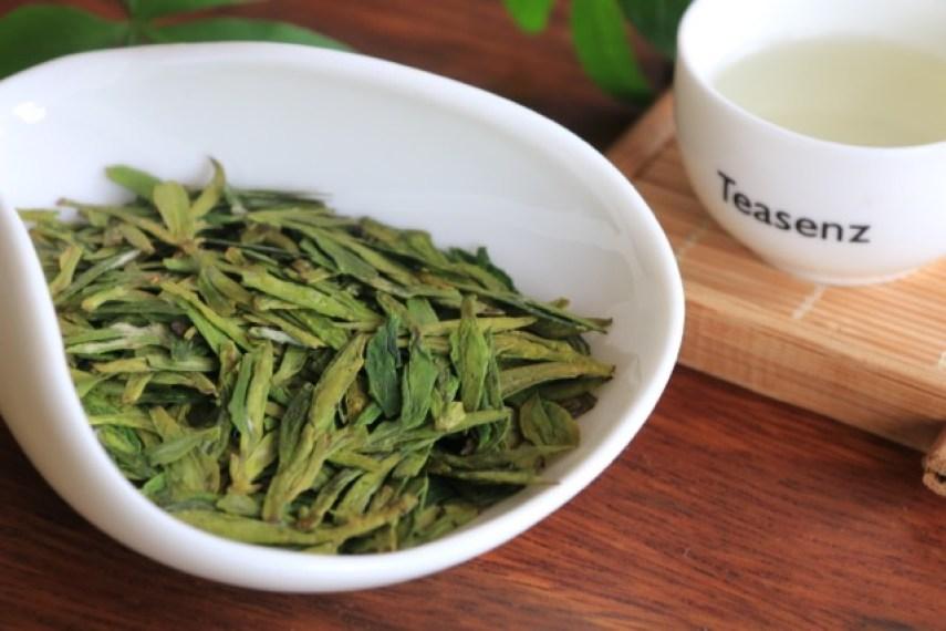 longjing dragon well populair chinese tea