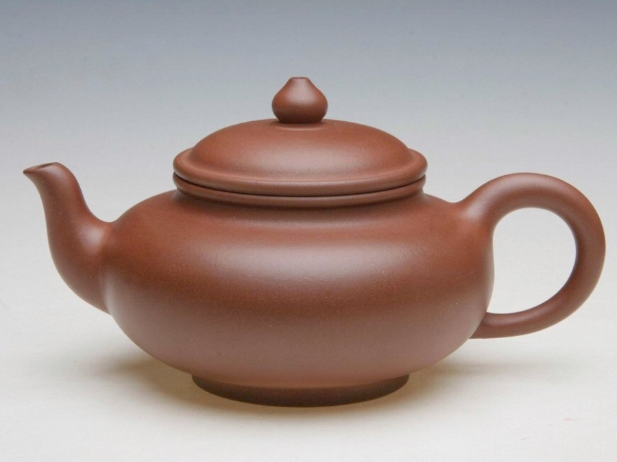 Purple clay (zisha) teapot