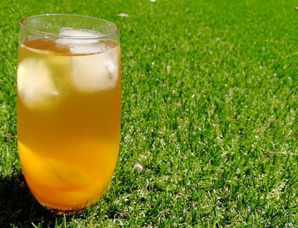 jasmine tea with peach recipe