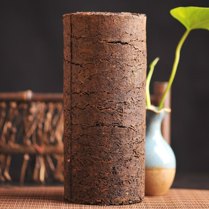 Pillar tea pu erh shape