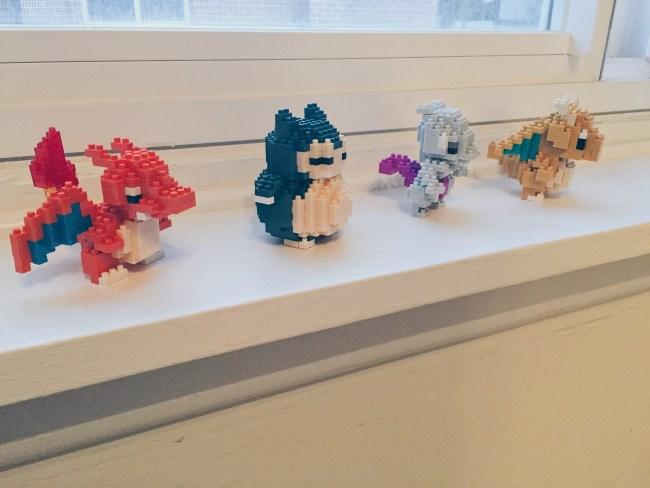 Pokémon Nanoblocks - Charizard, Snorlax, Mewtwo and Dragonite - helloteri