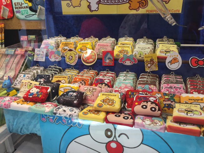 Tokyo and Osaka, Japan - All you need to know about Japanese Claw Machines - Assorted Coin Pouches - helloteri