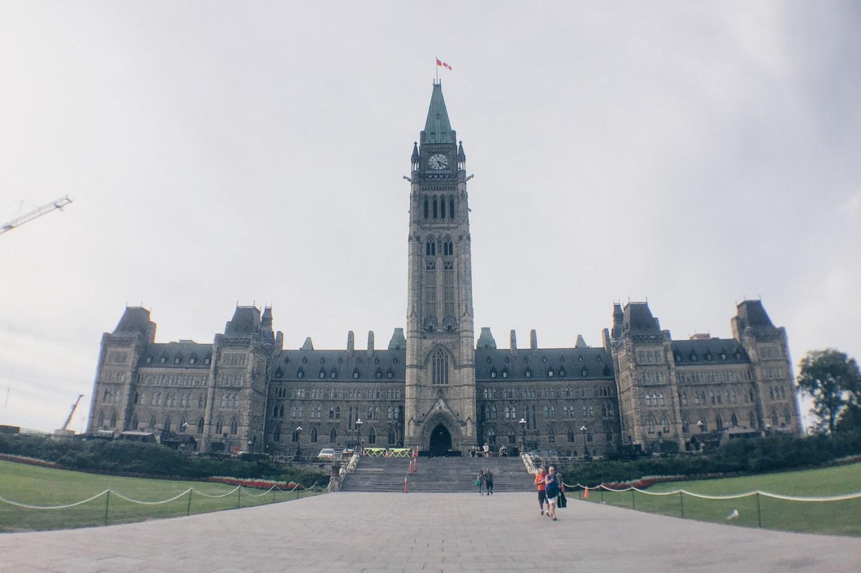 Parliament Hill - Northern Lights Show - Ottawa, Ontario, Canada - HELLOTERI