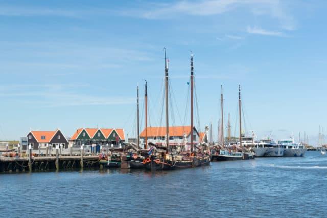 Haven Dorp Oudeschild Texel