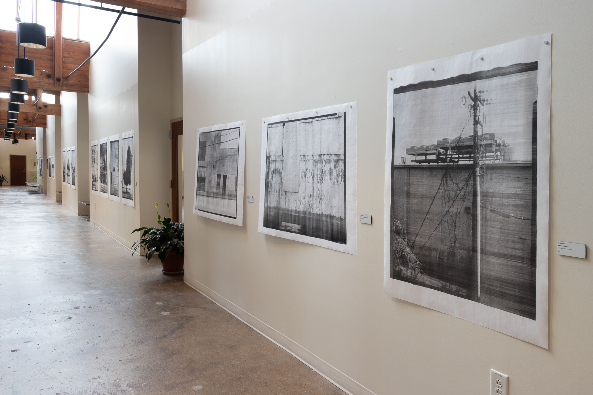 Installation view: This Here Now at Sawtooth School for Visual Art