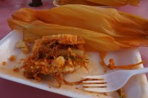 Beef tamales--A food love I developed after only one :)