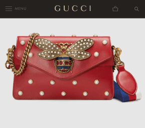 The Real Gucci bag; $3,200