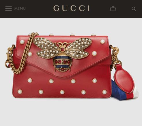 The Real Gucci bag; $3,200