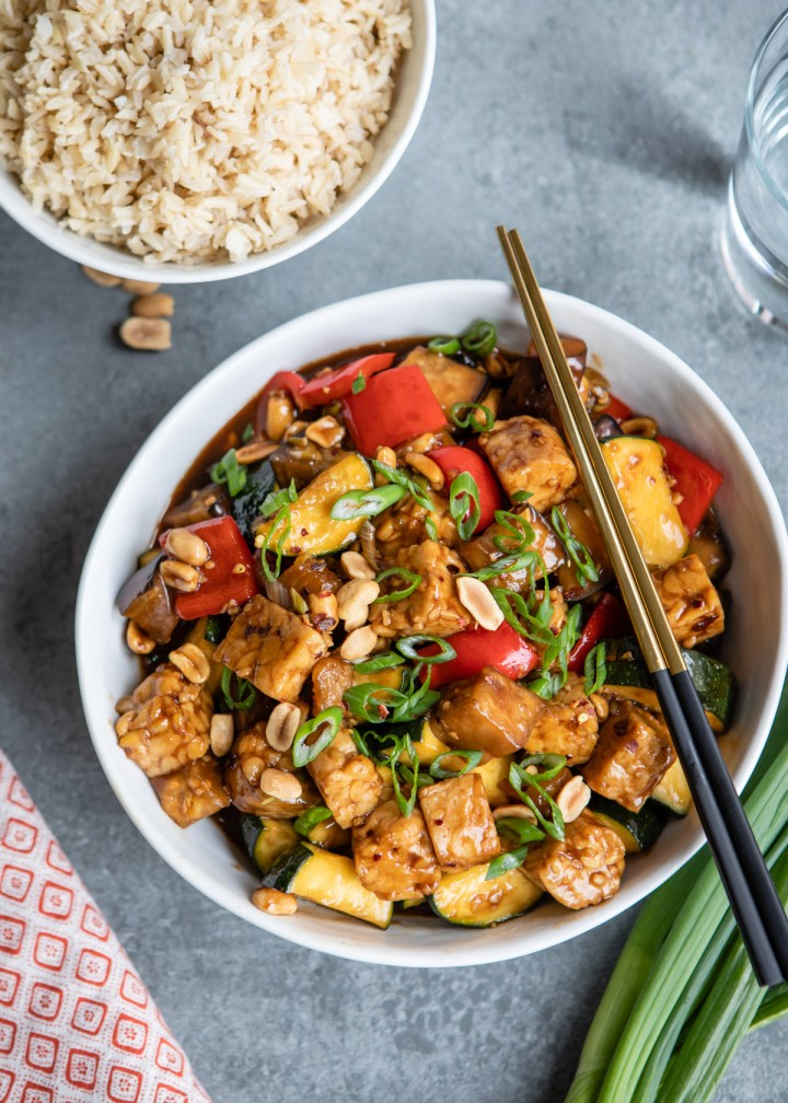 This Kung Pao Tempeh Is Sweet, Spicy, and Better Than Takeout