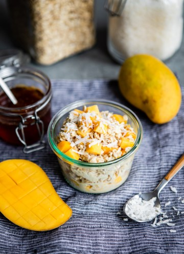 Our Fave Summer Breakfast: Coco-Mango Overnight Oats