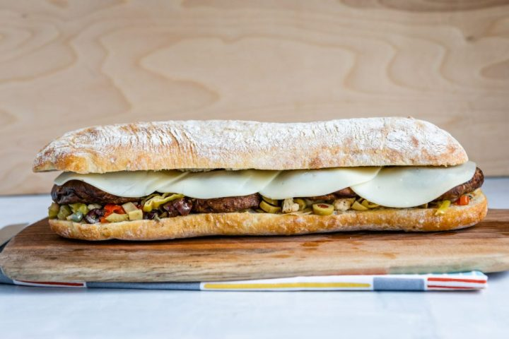 This Vegetarian Muffuletta Might Not Be Authentic, But It Tastes So Good You Won't Care