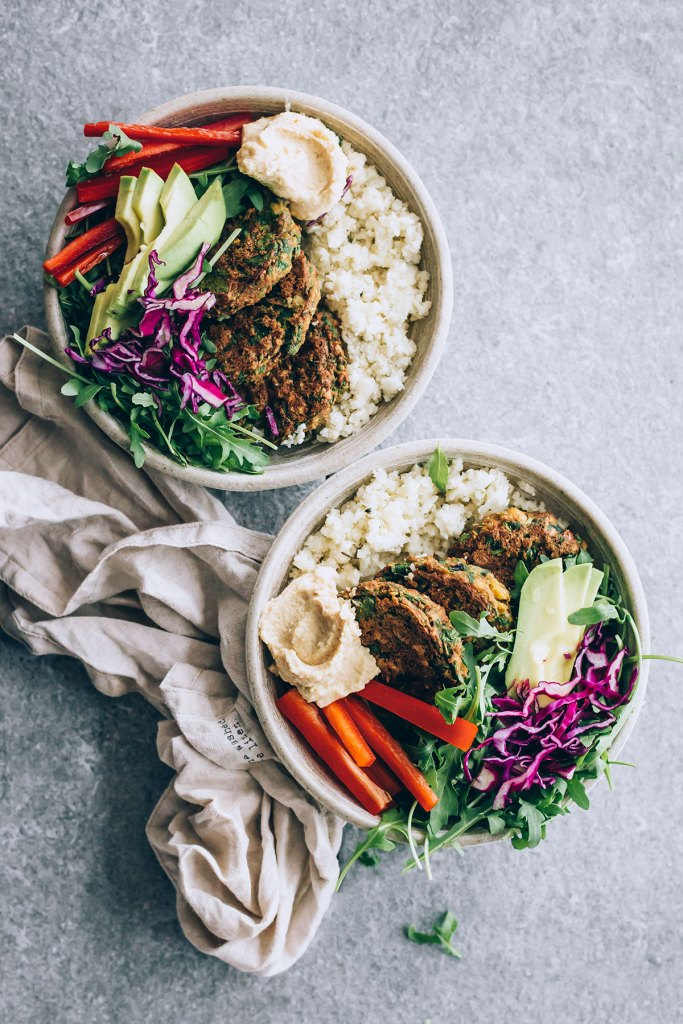 These Cauliflower Falafel Power Bowls Are Perfect for Meal Prep