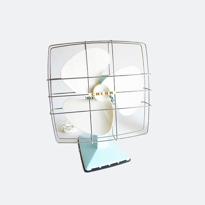 ventilateur calor vintage mint hello