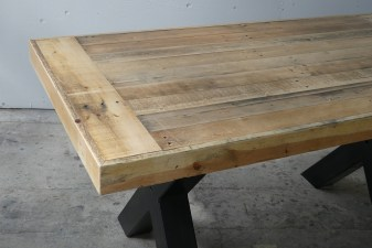Harvest Table with End caps
