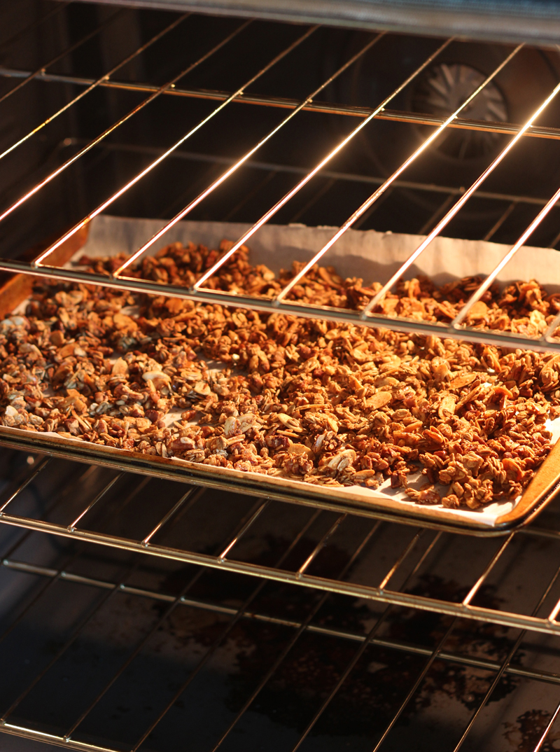 homemade convection oven granola