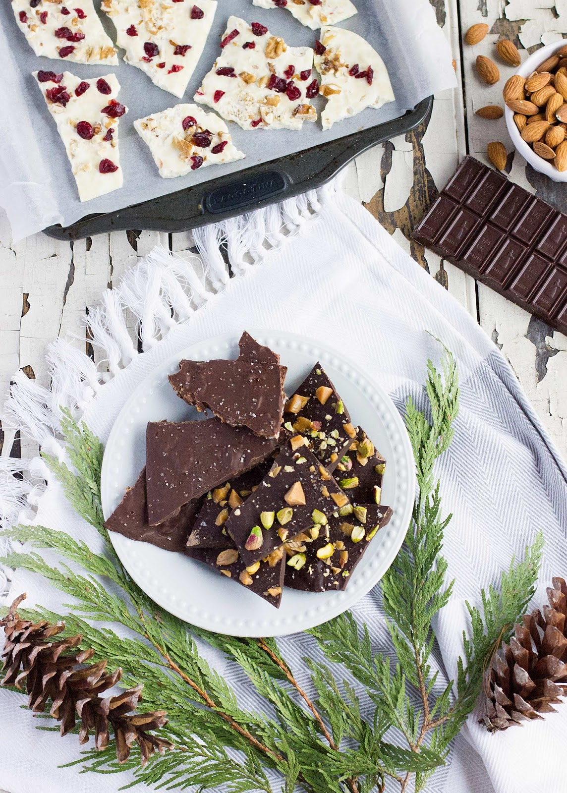 Salted Maple Bacon Chocolate Bark by Brittany Stager