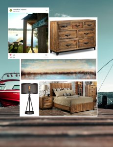 cottage mood board